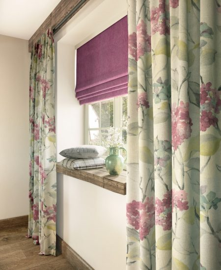 Curtain _ Roman Blind